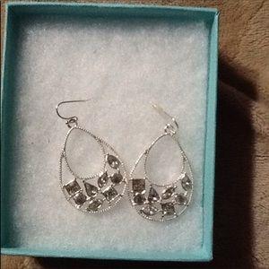 BN Crystal Drip Earrings